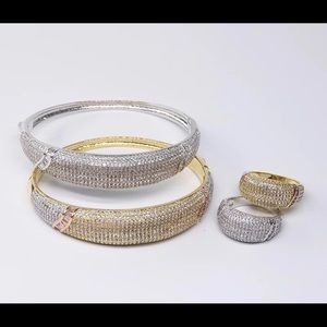 High Quality Bangle Ring Set